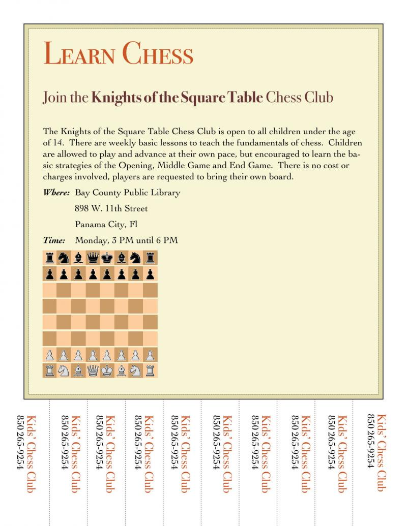 Knights of the Chess Table